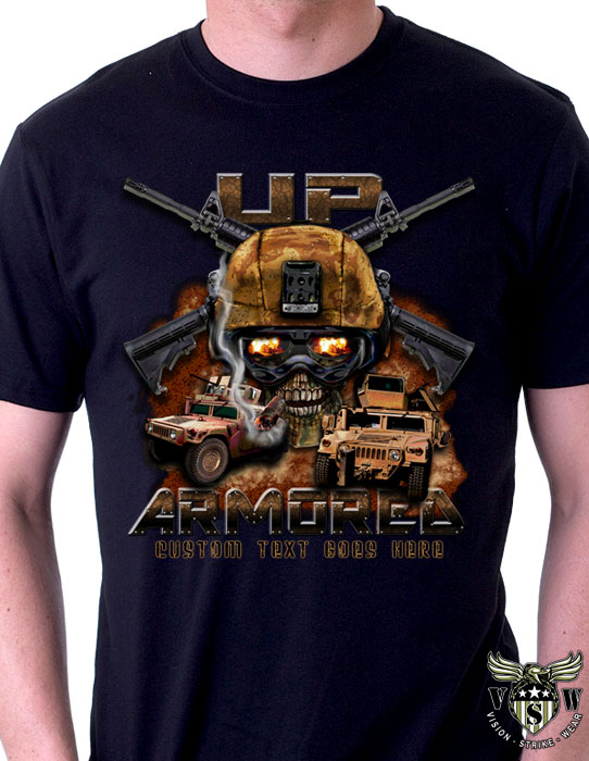 Vision strike wear archives vision strike wear military blog for Custom military unit t shirts