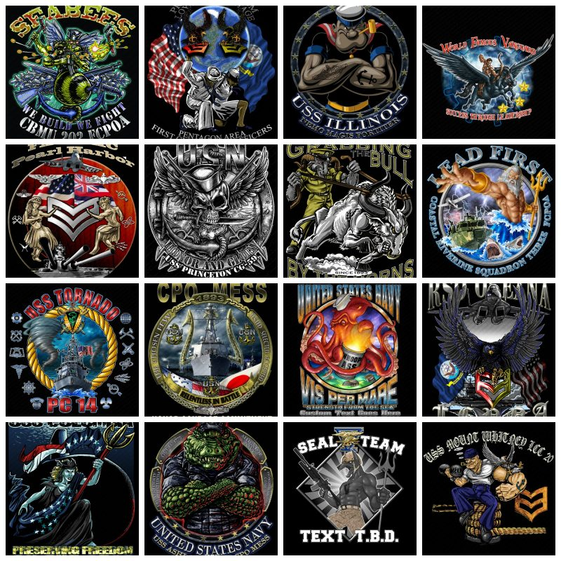 Custom US Navy Shirts