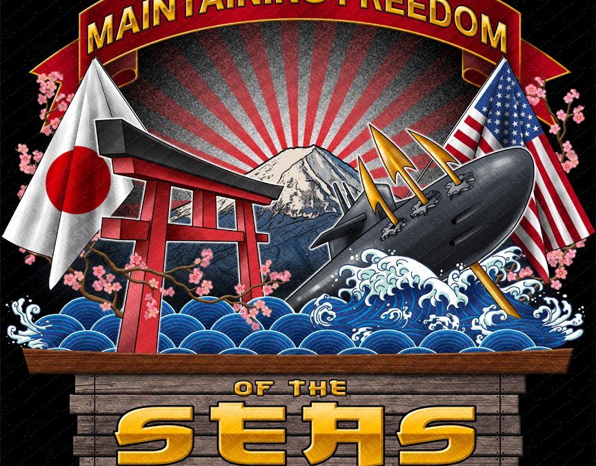 NAVOCEANASWCEN Naval Oceanography Antisubmarine Warfare Center Yokosuka Shirt Created