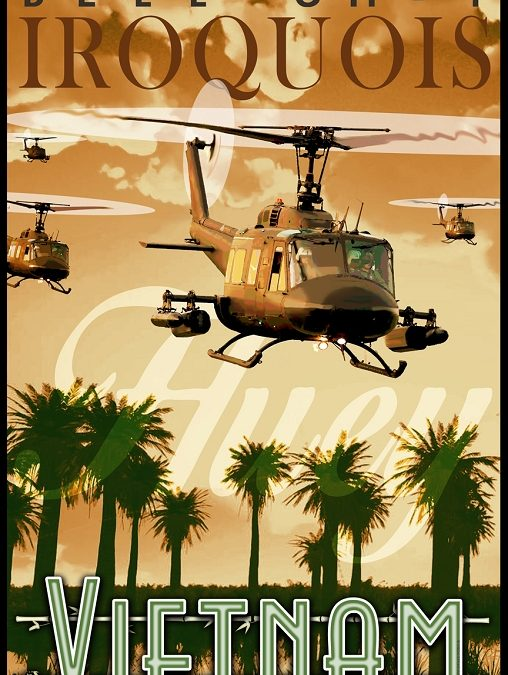 The Huey Helicopter In Hollywood