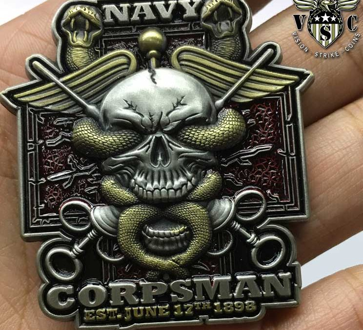 US Navy Rate Coins Crafted For United States Sailors