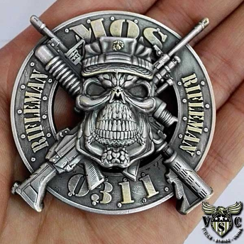 Small Arms Repairer MOS 2111 Coin Unleashed At Vision-Strike-Wear.Com Today